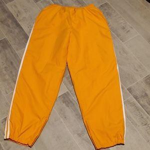 Orange w/White Stripes Track Pants